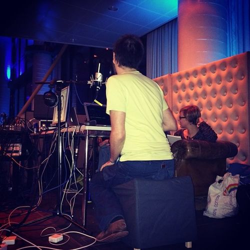 watsching @monoxyd beim Radiorollenspiel Techschnikfu setup gefussel 30C3