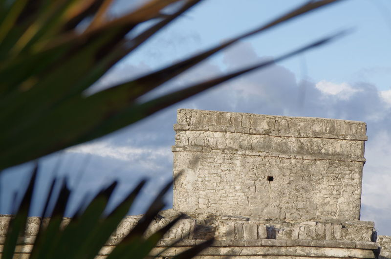 Tropical Climate Outdoors Day Wall Astecas Focus On Background No People Temple Pentax K-5