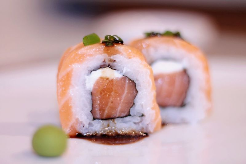 sushi time Sushi Healthy Lifestyle Home Showcase Interior Appetizer Gourmet Tradition Seafood Asian Food Close-up