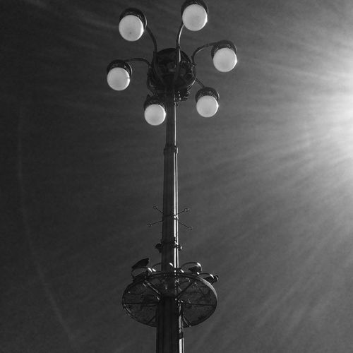 1504 Lighting Equipment Low Angle View Electricity  Technology No People Sky Built Structure Connection Illuminated Outdoors Architecture Day EyeEmNewHere Blackandwhite Minimalmood Minimalism Monochrome Streetphotography