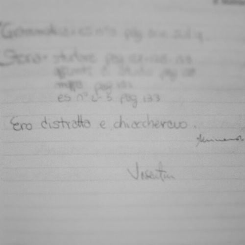 Cheeee nota del cavolo! Nota Stronza Prof Matematica firma falso instagram