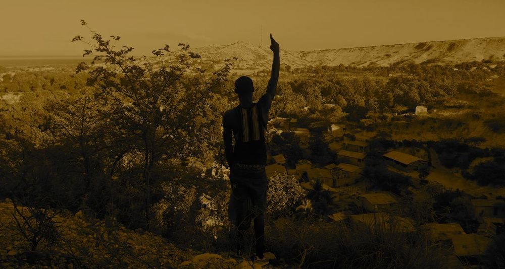 Aprse sa Jah fe. Ayiti Haiti Hiking Sunlight The Week On EyeEm Adventure Blackandwhite Blackandwhite Photography Caribbean Day Daylight Daylight Photography Haitian Haitian Beauty Landscape Leisure Activity Men Mountain Nature One Person Silhouette Sky Standing Sun Tree