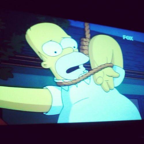 Assistindo Simpson -o filme kkk Muito Bom Finalizar Essa quarta
