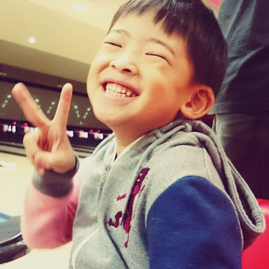 Smile ✌Nephew  Mobile Photography Bowling