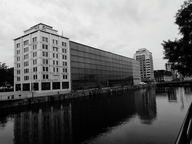 Alsace Strasbourg Architecture City Industry Reflection Water No People Day Waterfront Factory Outdoors Strasbourg/France