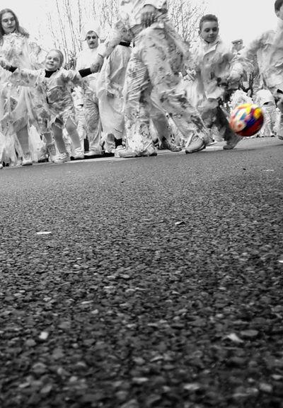 Carnevaldemuja63 EyeEm Trieste Carnival2016 Muja Frinds Triest Smile 2016 Open Edit Photo Photocamera Eyemphotography Colors Of Carnival Kids Football Zombie Brivido