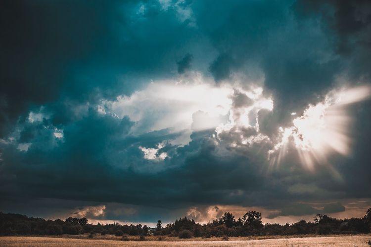 Thunderstorm Storm Cloud Mountain Cyclone Sky Cloud - Sky Landscape Extreme Weather Torrential Rain Meteorology Sky Only Cumulus Cloud Heaven Storm Cumulonimbus Dramatic Sky Power In Nature