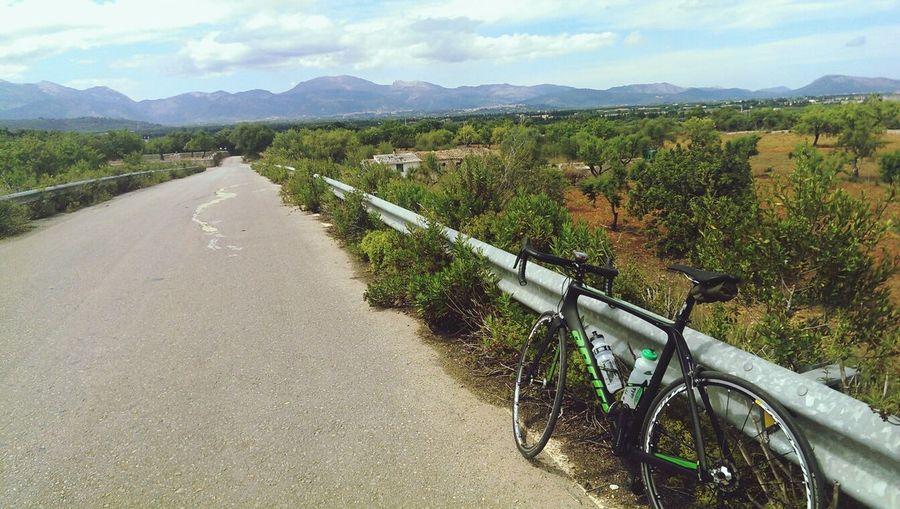 Biking to the hills