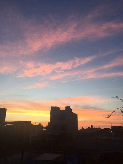 Sunset 🏖❤️ Sky Skyscraper Urban Skyline Mollendo-arequipa ❤