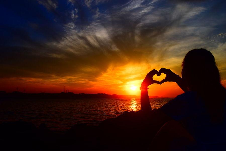 早起きは三文の徳 Nikon D3300 日の出 江口の森美術館 城ヶ島 一眼レフ はーと ❤ 絶景 早起きは三文の徳