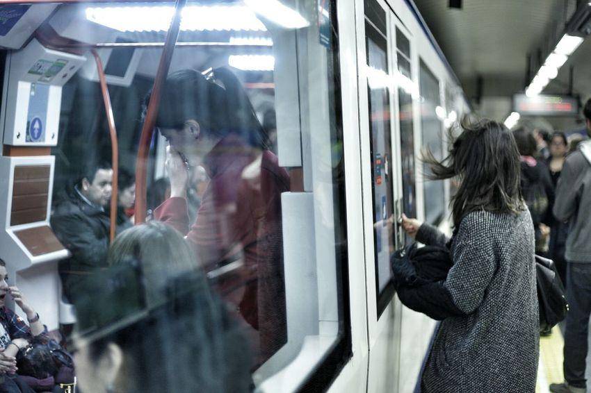 Subway Tube Madrid Nofilter