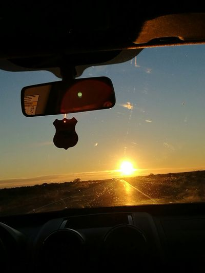 Nuestra bienvenida en Bahia Blanca💖 Sunset Transportation Car Driving Travel Flying Mid-air Sunlight Air Vehicle Nature Sky Adult Airplane Adults Only Only Men Cockpit People One Man Only Outdoors One Person