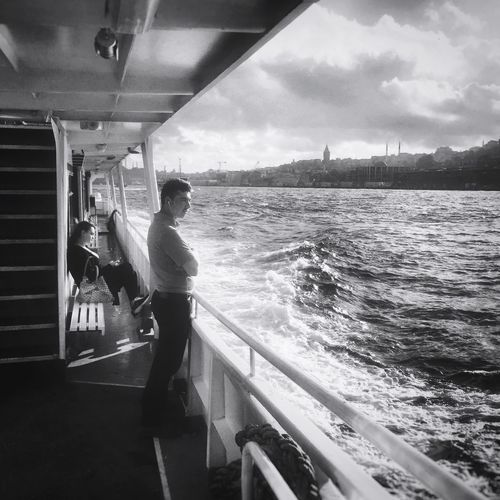 Check This Out From My Point Of View Turkey Iphonephotography Iphonesia IPhoneography Black And White Blackandwhite Photography Black & White Streetphotography Istanbul Istanbul Turkey Bosphorus Enjoying Life Sea Sea And Sky Clouds And Sky Nature's Diversities