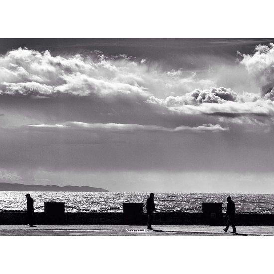 After the Storm . Blackandwhite Monochrome People Nature Urban Landscape Streetphotography Odetomycity Myalbania
