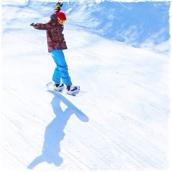 What Makes You Strong? Air Snowboarding Freedom