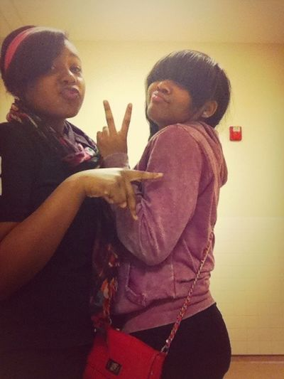 Me & BFF Being GOOFY
