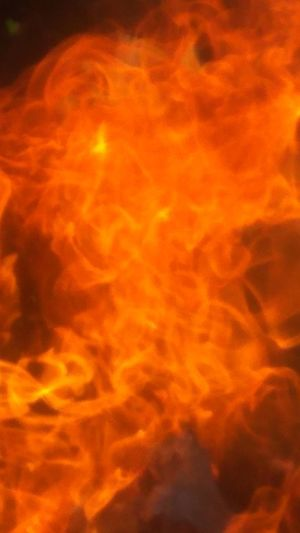 Fayer Inferno Red Heat - Temperature Flame Burning Smoke - Physical Structure Backgrounds Abstract Close-up Sky