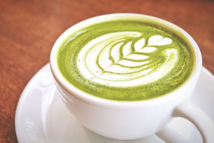 Hot green tea latte cup Green Tea Latte Hot Cup White Wooden Table Latteart Drink Coffee - Drink Coffee Cup Frothy Drink Cup Latte Cappuccino Refreshment Food And Drink Green Color Freshness Milk Froth Art Cafe No People Cream Matcha Tea Indoors  Close-up Healthy Eating EyeEmNewHere