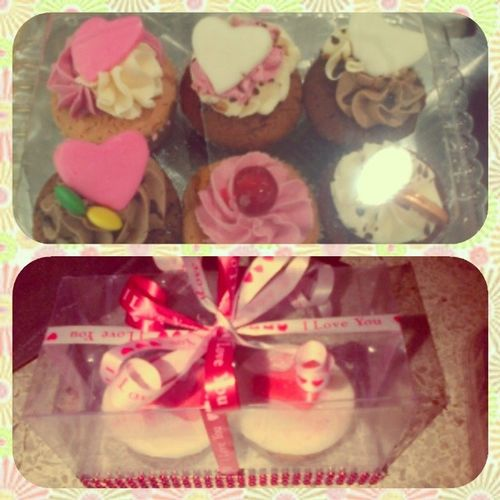 Amor es engordar juntitos :') Boyfriends Gift Tortus Cupcakes ñami