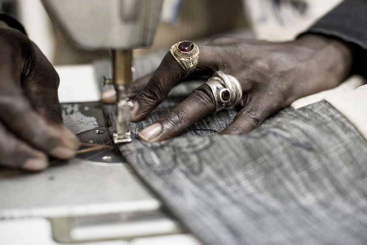 reportage | AMINCOUTURE, Berlin 2015 Close-up Fashion Hands Hands At Work Reportage Sewing Machine Sewing Stuff Tailor Tailoring Work First Eyeem Photo