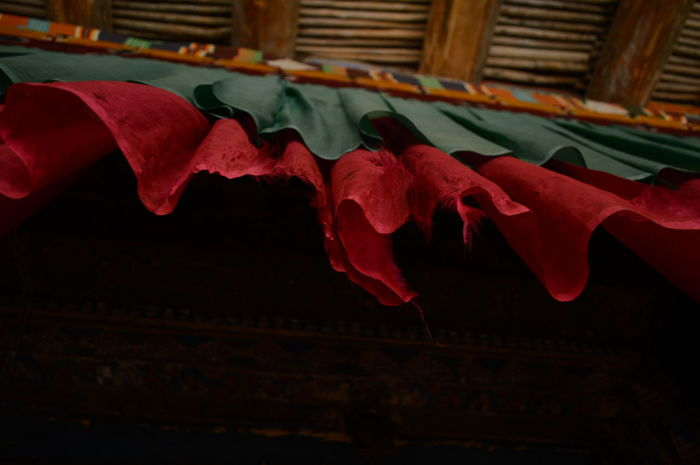 Details. Buddhist temple photography. Buddhist Temple Close-up Closeup Closeupshot Day Details Details Of My Life Himalaya Indoors  Lightandcolors Multicolour Mystic No People Red Redandgreen Spiritual Temple Tibetan Buddhist Temple Tibetan Culture