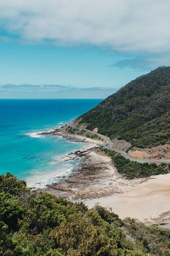 Great Ocean Road Australia Ocean Seascape Horizon Over Water Rocky Coastline Coastal Feature Coastline Atmospheric Mood