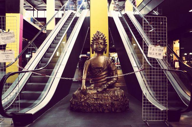 Buddah Idol Oriental Occidental