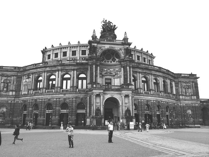 In Dresden. ... My First Pic On EyeEm Dresden Monochrome Streetphotography Open Edit