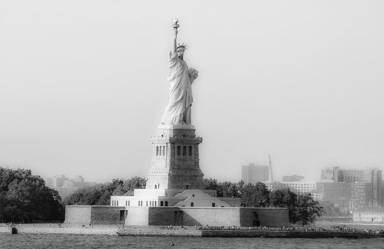 Architecture Built Structure Capital Cities  City Life Statue Of Liberty Tourism