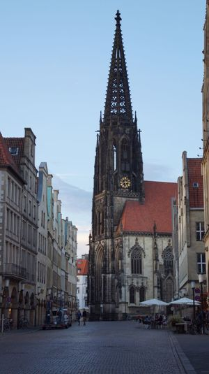 Beautiful Buildings Beautiful Old Church Münsterland Münster, Deutschland Hello World Check This Out
