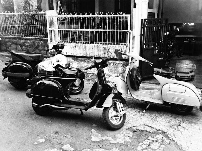 Vespa Myvespa Black And White