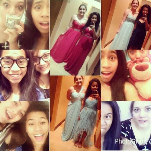 Flashbackfriday to the whole weekend I spent with @dinafj3! Fundays Bestfriend DressShopping flannelcandle disneystore chandlermall smile love laugh instafamous followme