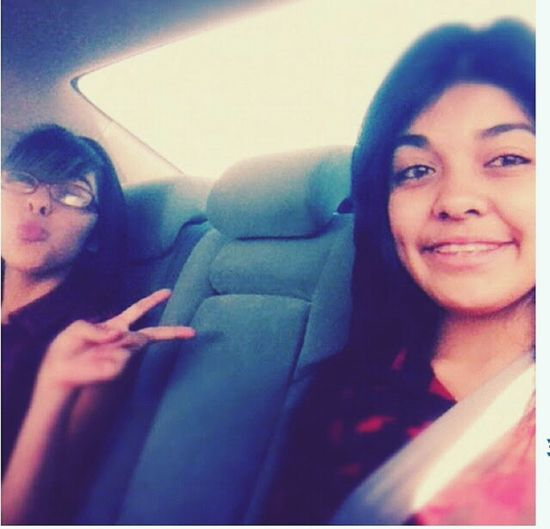 old picture. when me and my sister went to a wiz khalifa concert! ♡ Wiz Khalifa ♥ Oldpicture That's Me My Sister & I