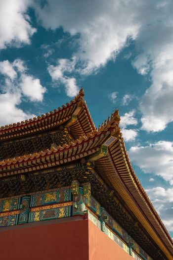 Forbidden Places Cloud - Sky Sky Architecture Built Structure Low Angle View Building Exterior Place Of Worship Religion Belief Building History Outdoors