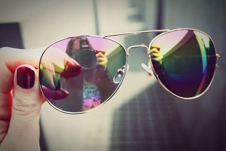 Taking Photos Berlin Sunglasses Camera Nail Polish Colours Loveit Memycameraandi Reflecting Likeit