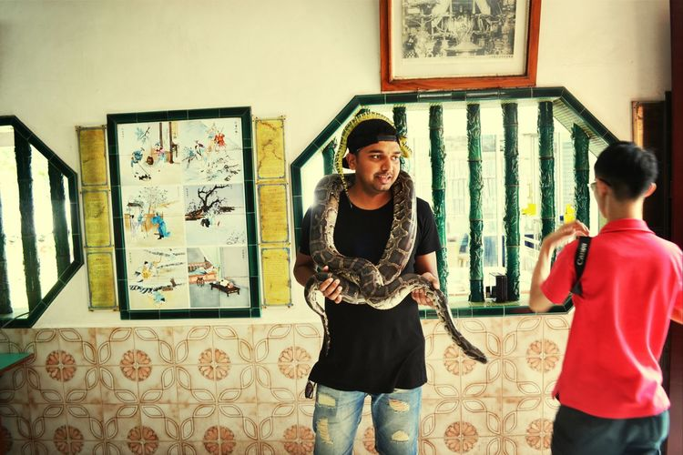 Penang snake Temple:-)