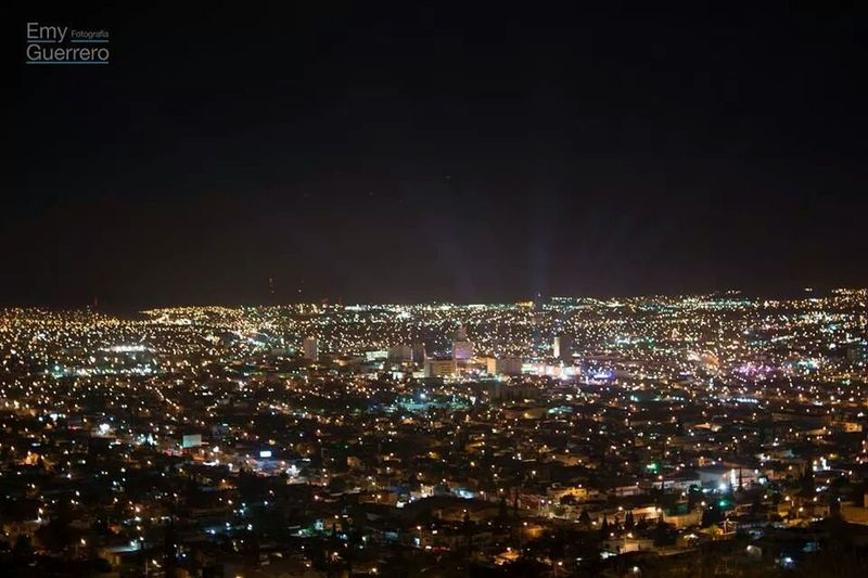 EyeEm Best Shots-Nigh Photography Sky And City Lights Mexico