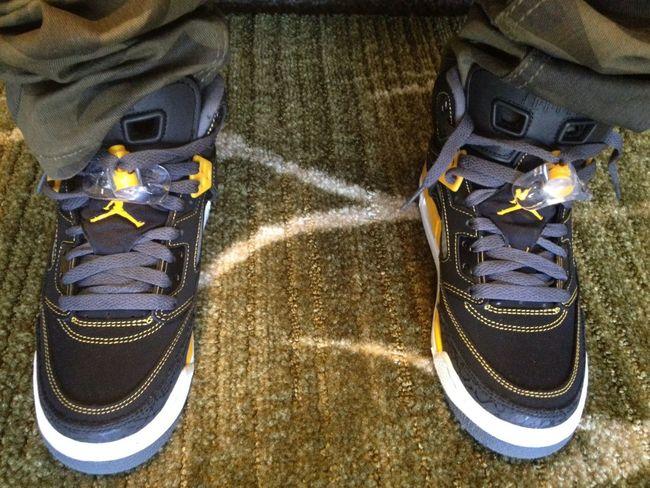 My footwork #JordanSpizike