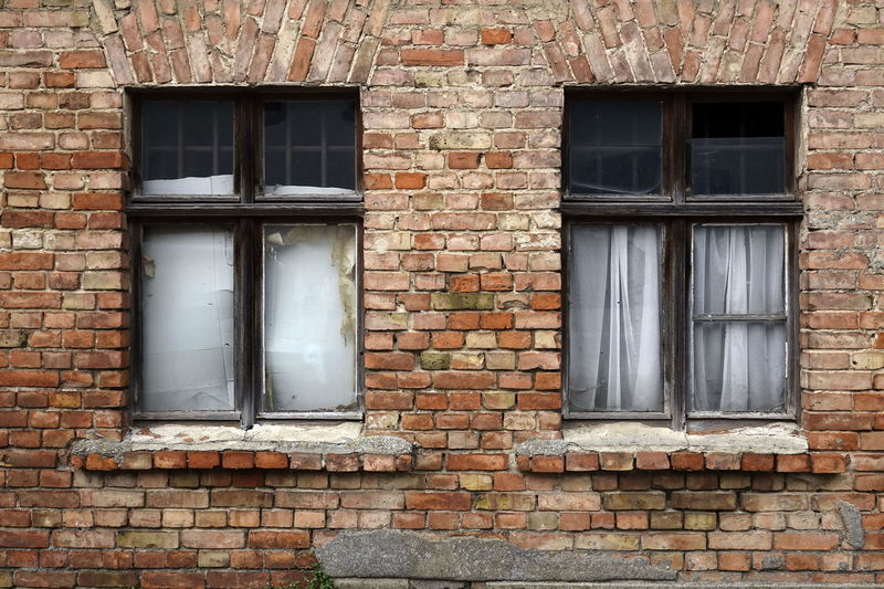 Abandoned Architecture Brick Wall Building Exterior Built Structure Day Door No People Outdoors Window