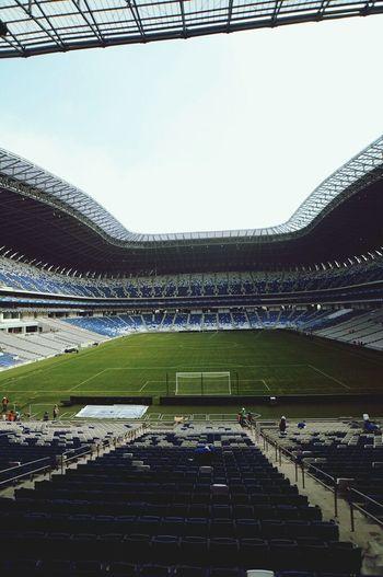 Estadio BBVA Bancomer Estadio BBVAstadium Rayados LaPandilla Rayados Del Monterrey❤ Rayadosfc Hello World Arquitecture Stadium Word