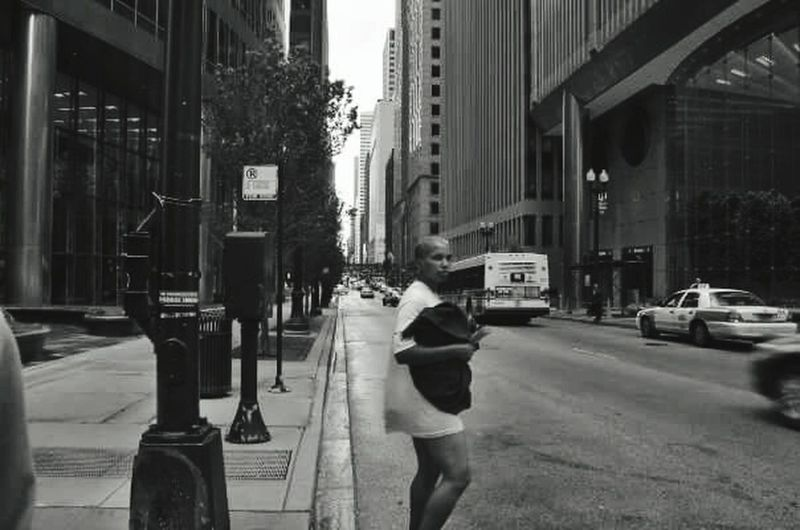 Chicagoshots People City Street City Street Woman Blackandwhite Strangers In Transit Welcome To Black Urban Photography Street Life People And Places Real People Urban Exploration Urban Lifestyle Streetphotography_bw People Watching City View  Urban Life Urbanphotography Building Exterior City Life Streetphotography NEM Street Girl The Street Photographer - 2017 EyeEm Awards