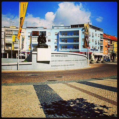 AlmadaPortugal Margem_sul Almada Monumentos  skybluesperseguidoscristianocitysquarememories