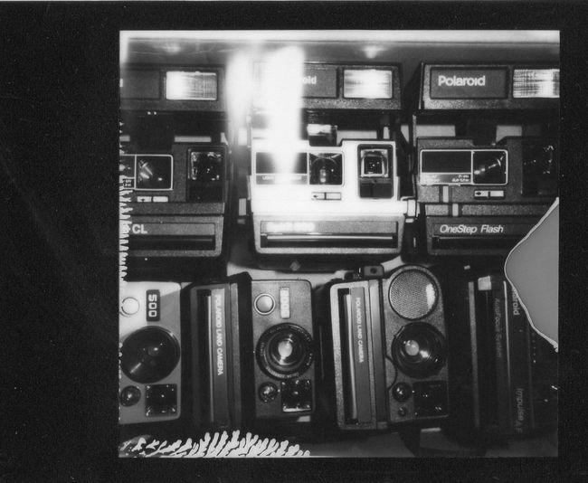 Polaroid Cameras. Polaroid Film Monochrome Slr680 OneDay. The EyeEm Facebook Cover Challenge Analogue Photography