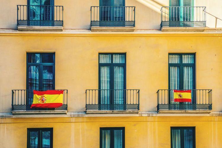 Spanish Flags