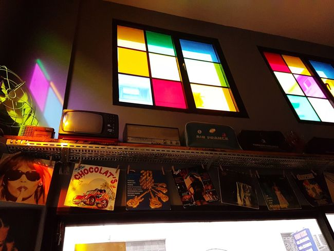 Window Indoors  Multi Colored No People Low Angle View Day Architecture Chocolat
