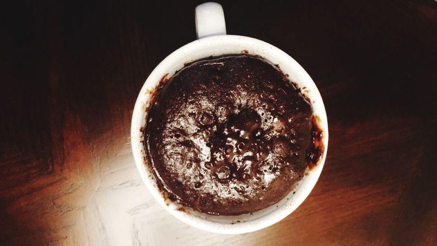 Mugcake Mug Cake Nutella Chocolate Brownie Sweet