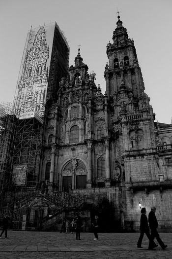 Travel Photography Open Edit Santiago De Compostela Blackandwhite Photography