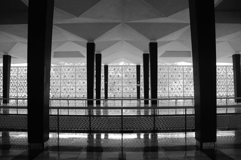 Architecture Modern Built Structure Mosque Moschee National Mosque Malaysia Malaysia Traveling Spirit Believe Otherculture Holiday Kuala Lumpur