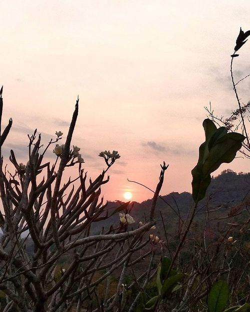 Sunset di gantole wonogiri Wonogiriku INDONESIA Jawatengah Sunset Wonogirisukses Goldsun Beauty