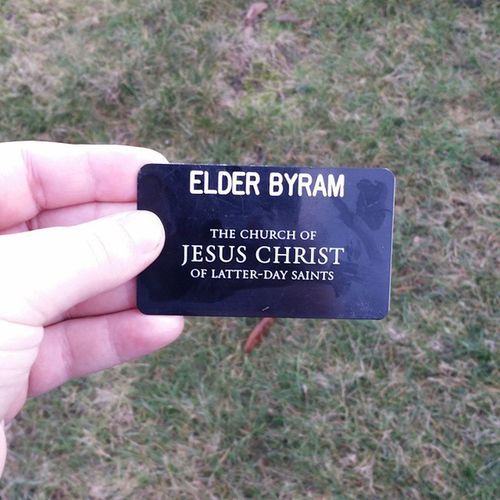 found this on a walk Elderbyram Churchofjesuschristoflatterdaysaints
